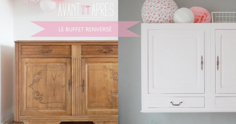 AVANT/APRÈS : LE BUFFET RENVERSÉ