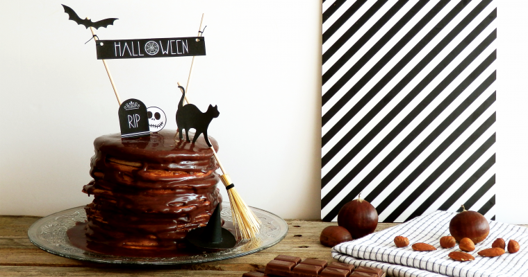 HAPPY HALLOWEEN & CAKE TOPPER ♥ modèle téléchargeable