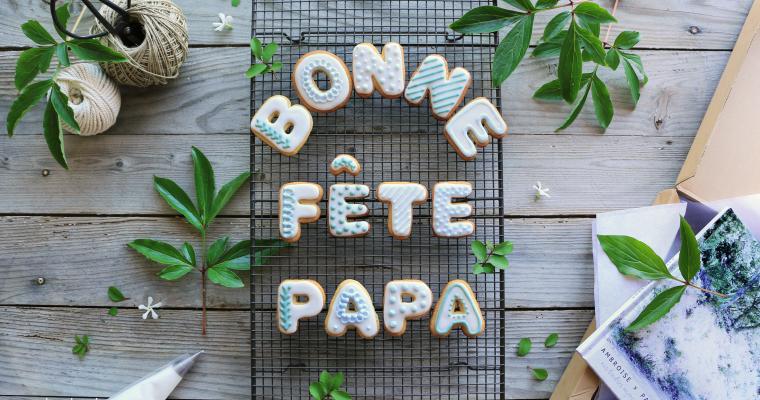 "MIAM !!! SUGAR COOKIES "" BONNE FÊTE PAPA """